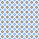 Black blue seamless star pattern wallpaper Royalty Free Stock Photo