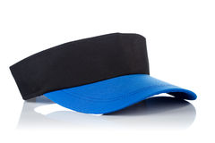 Black and blue tennis cap Stock Photo