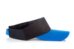 Black and blue tennis cap Royalty Free Stock Photography