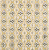 Black, Blue, Yellow Cross Pattern Wallpaper Swatch Royalty Free Stock Photography