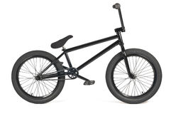 Black bmx bike Royalty Free Stock Photos