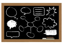 Black board Royalty Free Stock Photography