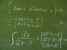 Black board Stock Images