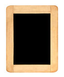 Black board. On white background Stock Photo