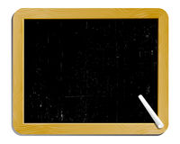 Black board. Aged blank slate with chalk Stock Photos