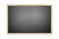 Black board isolate on white background. New black board isolate on white background Royalty Free Stock Photo