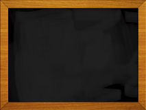 Black board - school blackboard (1 of 3). Black board school blackboard isolated on white stock photo