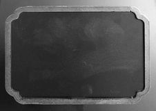 Black board with stylized frame Royalty Free Stock Photos