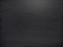 Black board with the traces of chalk Royalty Free Stock Photos