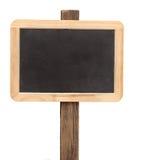 Empty small blackboard Royalty Free Stock Image