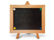Black board wood frame Royalty Free Stock Image