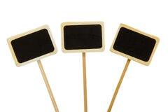 Black boards Royalty Free Stock Photos