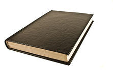 Black Book Royalty Free Stock Image
