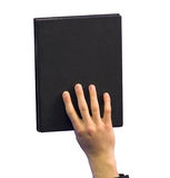 Black book 3 Stock Image