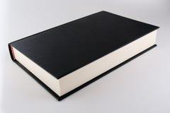 Black book. On grey background Stock Photo