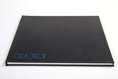 Black Book drawing. Royalty Free Stock Photography