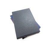Black book isolated on white Stock Photography