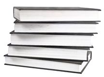 Black book in row Stock Images