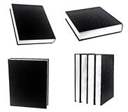 Black book in row Stock Photo