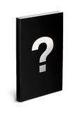Black book template Royalty Free Stock Images