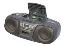 Black Boom Box Stock Images