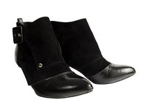 Black boot Stock Images