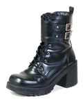Black Boot Royalty Free Stock Photography