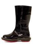 Black boot Royalty Free Stock Photo
