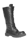 Black boot. Royalty Free Stock Images