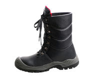 Black boot Royalty Free Stock Photos