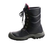 Black boot Royalty Free Stock Photos
