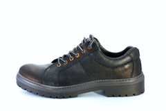 Black boot Stock Photo