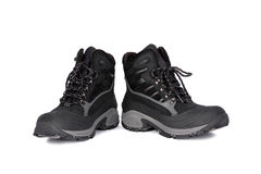 Black boots Stock Image