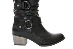 Black boots. Stock Photo