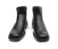 Black boots Stock Images