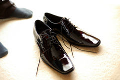 Black Boots Stock Photos
