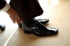 Black Boots Royalty Free Stock Photos