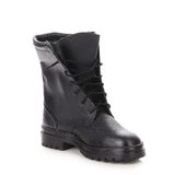 Black boots men Stock Photography