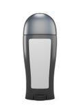 Black bottle antiperspirant Stock Images