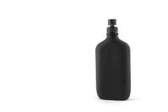 Black bottle isolated Stock Photos