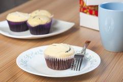 Black bottom cupcake Royalty Free Stock Image