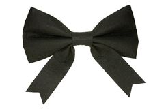 Black Bow Stock Photos