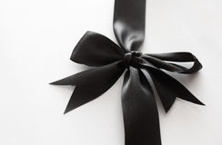 Black bow Stock Photography