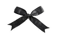 Black Bow royalty free stock photography