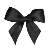Black bow Royalty Free Stock Images