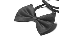 A black bow tie Stock Photo