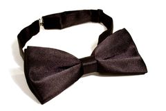 A black bow tie Royalty Free Stock Image