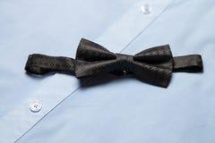 Black bow tie Stock Image