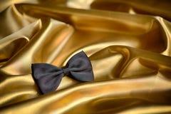 Black bow tie Royalty Free Stock Photos