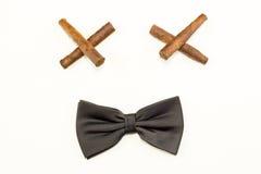 Black bow tie Royalty Free Stock Photo
